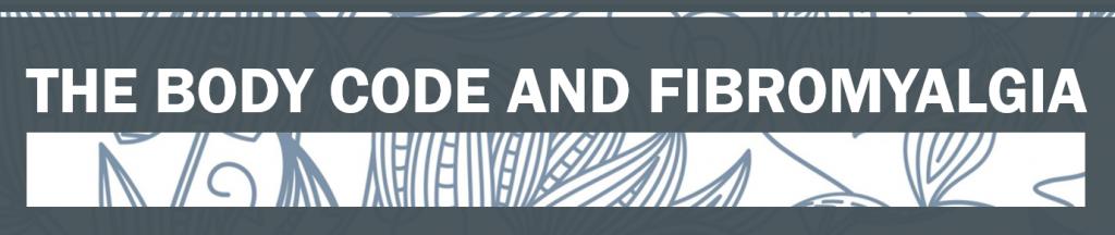 The Energy Code & Fibromyalgia banner